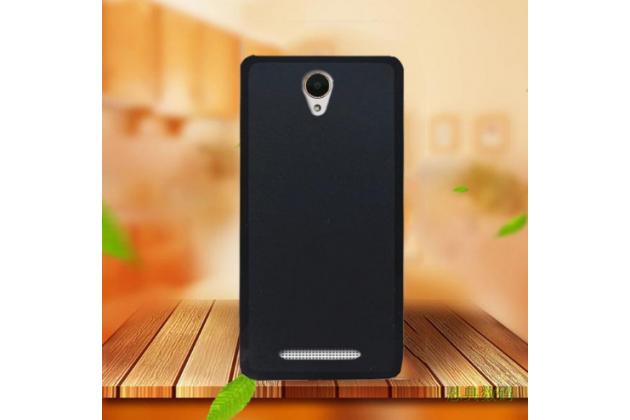 """Фирменная ультра-тонкая силиконовая задняя панель-чехол-накладка для Acer Liquid Z6 5.0"""" черная"""