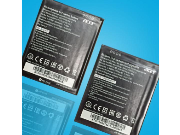 Фирменная аккумуляторная батарея  BAT-T11 3900mah на телефон Acer Liquid Z630 / Z630 Duo / Z630s + гарантия..