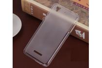 Фирменная ультра-тонкая полимерная из мягкого качественного силикона задняя панель-чехол-накладка для Acer Liquid Z630 / Z630 Duo / Z630s белая