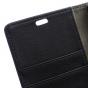 Фирменный чехол-книжка из качественной импортной кожи с мульти-подставкой застёжкой и визитницей для Асер Ликвид З630 черный