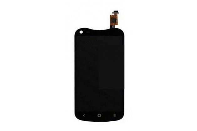 Фирменный LCD-ЖК-сенсорный дисплей-экран-стекло с тачскрином на телефон Acer Liquid E2 Duo V370 черный + гарантия