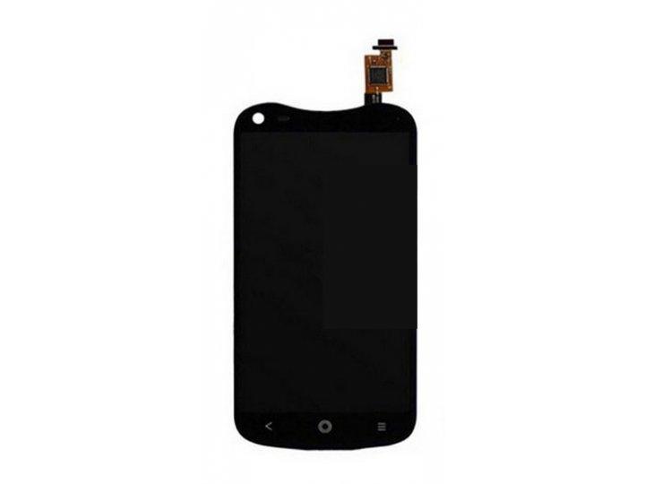 Фирменный LCD-ЖК-сенсорный дисплей-экран-стекло с тачскрином на телефон Acer Liquid E2 Duo V370 черный + гаран..