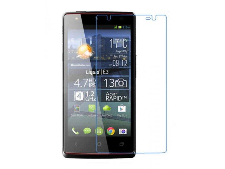 Фирменная оригинальная защитная пленка для телефона Acer Liquid E3 E380 глянцевая..