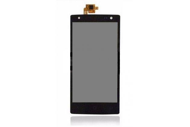 Фирменный LCD-ЖК-сенсорный дисплей-экран-стекло с тачскрином на телефон Acer Liquid E3 E380 черный + гарантия