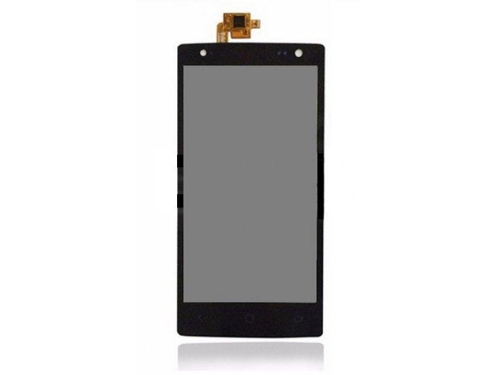 Фирменный LCD-ЖК-сенсорный дисплей-экран-стекло с тачскрином на телефон Acer Liquid E3 E380 черный + гарантия..