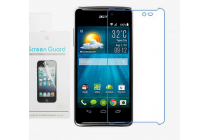 Фирменная оригинальная защитная пленка для телефона  Acer Liquid E600  глянцевая