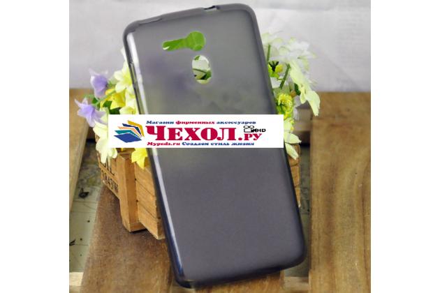 Фирменная ультра-тонкая полимерная из мягкого качественного силикона задняя панель-чехол-накладка для Acer Liquid E700 серая