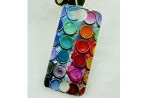 """Фирменная необычная из легчайшего и тончайшего пластика задняя панель-чехол-накладка для Acer Liquid Jade S55  """"тематика Краски"""""""