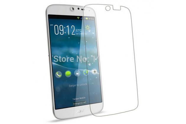 Фирменная оригинальная защитная пленка для телефона Acer Liquid Jade S55  глянцевая