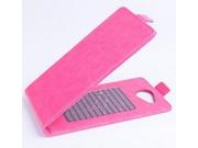 Фирменный оригинальный вертикальный откидной чехол-флип для Acer Liquid Jade S55  розовый кожаный..