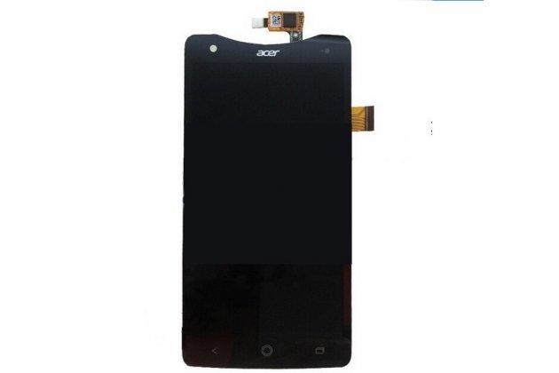 Фирменный LCD-ЖК-сенсорный дисплей-экран-стекло с тачскрином на телефон Acer Liquid S1 Duo S510 черный + гарантия