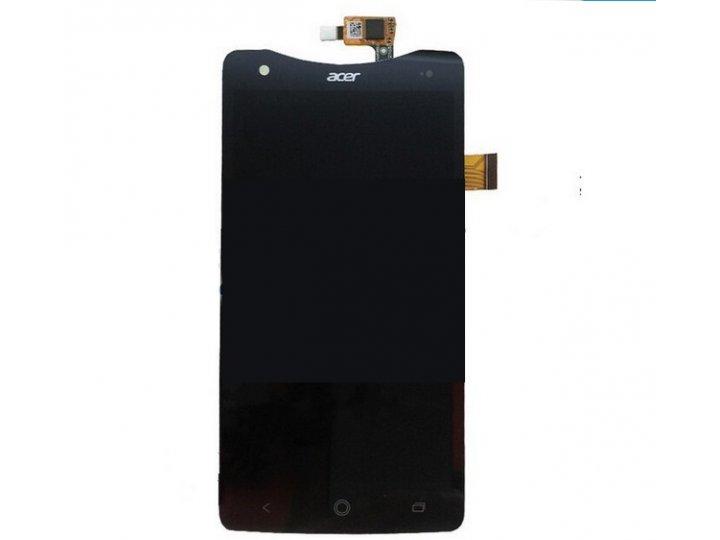 Фирменный LCD-ЖК-сенсорный дисплей-экран-стекло с тачскрином на телефон Acer Liquid S1 Duo S510 черный + гаран..