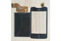 Фирменный LCD-ЖК-сенсорный дисплей-экран-стекло с тачскрином на телефон Acer Liquid Z3 / Z3 Duo Z310 черный + гарантия