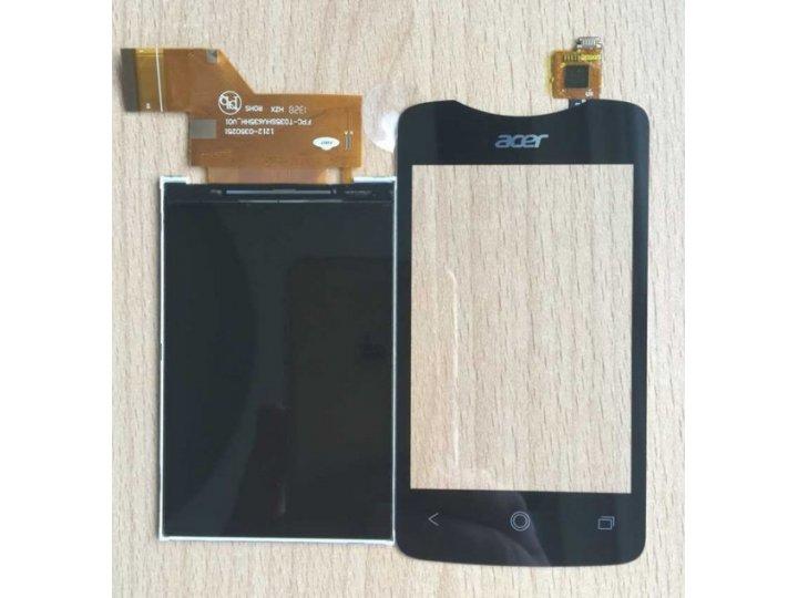 Фирменный LCD-ЖК-сенсорный дисплей-экран-стекло с тачскрином на телефон Acer Liquid Z3 / Z3 Duo Z310 черный + ..
