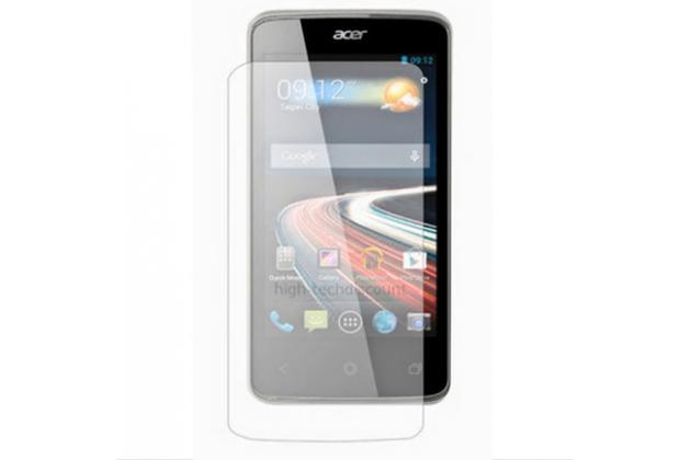 Фирменная оригинальная защитная пленка для телефона  Acer Liquid Z4 Z160   глянцевая
