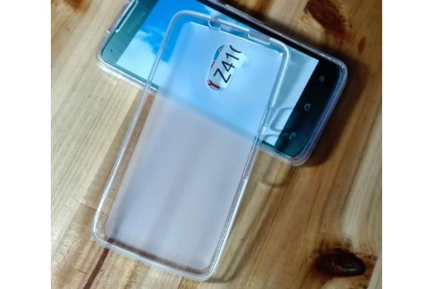 Фирменная ультра-тонкая полимерная из мягкого качественного силикона задняя панель-чехол-накладка для Acer Liquid Z410/ Z410 Duo белая