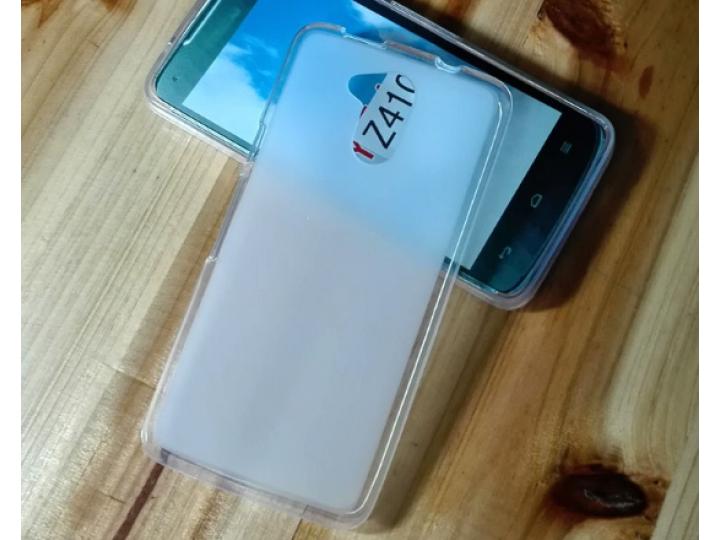 Фирменная ультра-тонкая полимерная из мягкого качественного силикона задняя панель-чехол-накладка для Acer Liq..