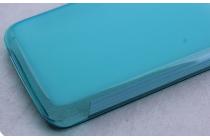 Фирменная ультра-тонкая полимерная из мягкого качественного силикона задняя панель-чехол-накладка для Acer Liquid Z410/ Z410 Duo голубая