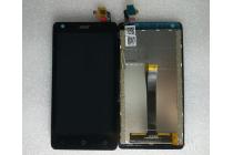 Фирменный LCD-ЖК-сенсорный дисплей-экран-стекло с тачскрином на телефон Acer Liquid Z410/ Z410 Duo черный + гарантия