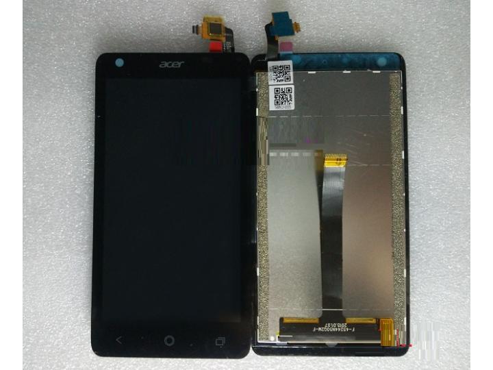 Фирменный LCD-ЖК-сенсорный дисплей-экран-стекло с тачскрином на телефон Acer Liquid Z410/ Z410 Duo черный + га..
