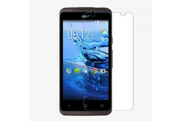 Фирменная оригинальная защитная пленка для телефона Acer Liquid Z410 Duo глянцевая