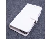 Фирменный чехол-книжка из кожи с мульти-подставкой и застёжкой для Acer Liquid Z410 Duo белый..