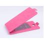 Фирменный оригинальный вертикальный откидной чехол-флип для Acer Liquid Z410 Duo розовый кожаный..