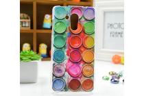 """Фирменная необычная из легчайшего и тончайшего пластика задняя панель-чехол-накладка для Acer Liquid Z500 Dual SIm  """"тематика Краски"""""""