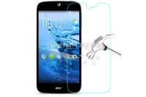 Фирменное защитное закалённое противоударное стекло премиум-класса из качественного японского материала с олеофобным покрытием для телефона Acer Liquid M220 / Acer Liquid Z220/ Z220 Duo