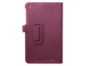 Чехол для Acer One 8 B1-820/821/B1-830 фиолетовый кожаный..