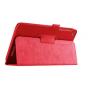 Чехол для Acer One 8 B1-820/821/B1-830 красный кожаный..