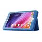 Чехол для Acer One 8 B1-820/821/B1-830 синий кожаный..