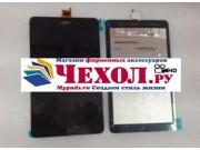 Фирменный LCD-ЖК-сенсорный дисплей-экран-стекло с тачскрином на планшет Acer Iconia One 8 B1-820 / B1-830 черн..
