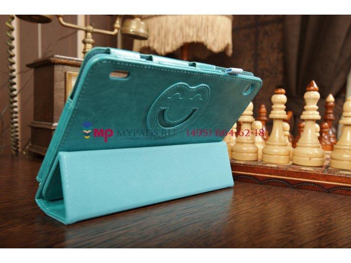 Чехол для Acer Iconia Tab A1-810/A1-811 SLIM бирюзовый кожаный..