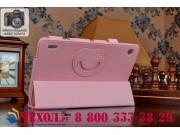 Чехол для Acer Iconia Tab A1-810/A1-811 SLIM розовый кожаный..