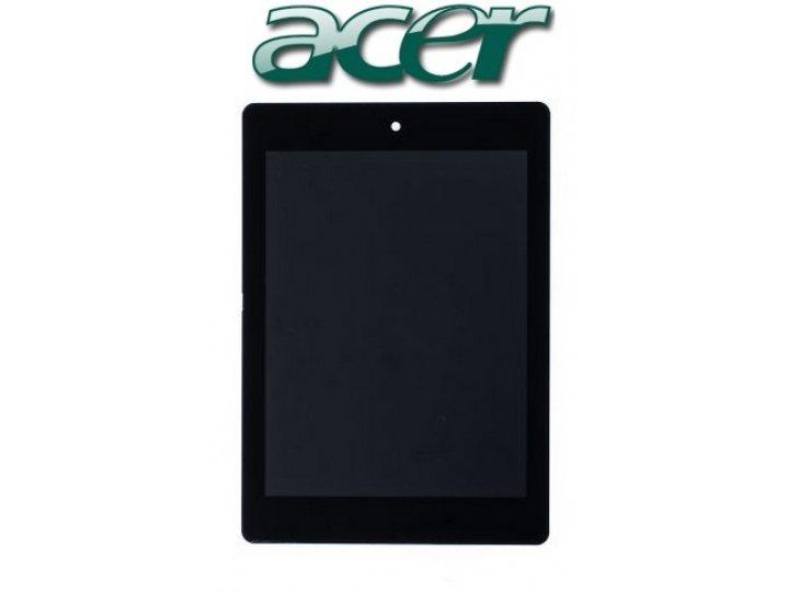 Фирменный LCD-ЖК-сенсорный дисплей-экран-стекло с тачскрином на планшет Acer Iconia Tab A1-810/A1-811 черный и..