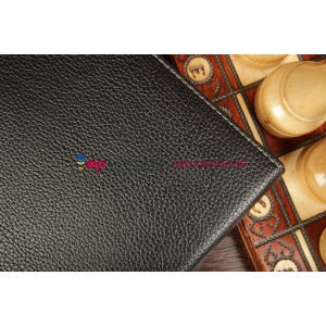 Фирменный чехол со съёмной клавиатурой для Acer Iconia Tab A200/A201/A210/A211 черный кожаный + гарантия