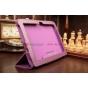 Фирменный чехол-обложка для Acer Iconia Tab A3-A10/A3-A11 фиолетовый кожаный..