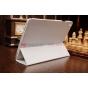 Фирменный чехол-футляр для Acer Iconia Tab A3-A10/A3-A11 белый кожаный..