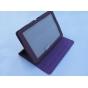 Фирменный чехол-обложка для Acer Iconia Tab A510/A511 фиолетовый кожаный..