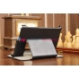 Фирменный чехол для Acer Iconia Tab B1-A71 черный кожаный