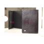 Фирменный чехол-обложка для Acer Iconia Tab W700/W701 черный кожаный