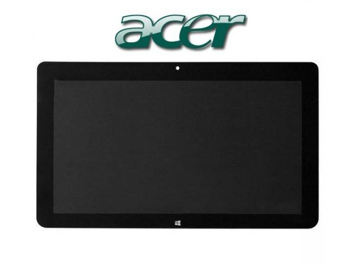 Фирменный LCD-ЖК-сенсорный дисплей-экран-стекло с тачскрином на планшет Acer Iconia Tab W700/W701 черный и инс..