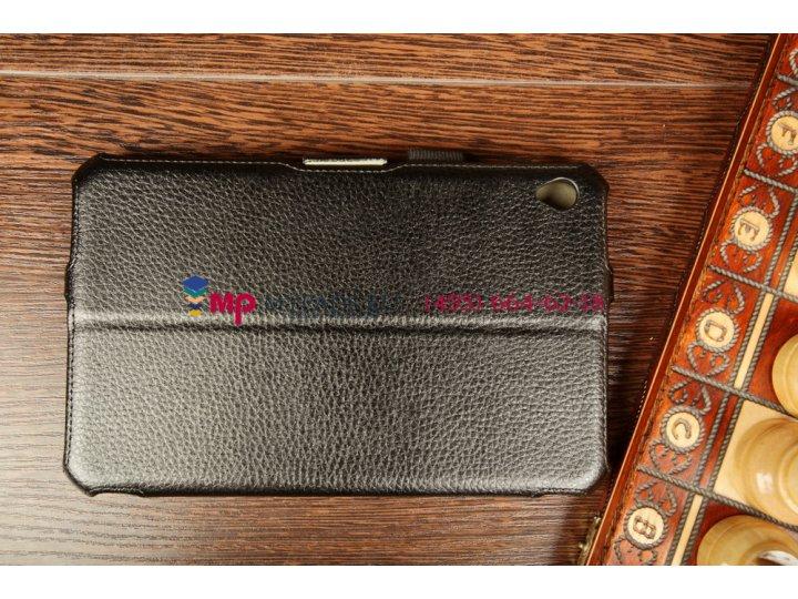 Фирменный оригинальный чехол для Acer Iconia Tab W3-810/811 с мульти-подставкой и держателем для руки черный н..