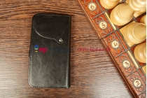 Чехол-книжка для Acer CloudMobile S500 черный кожаный