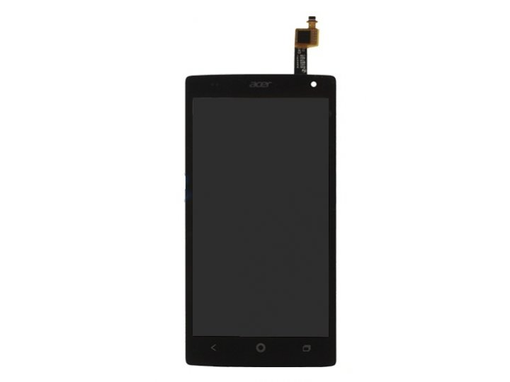 Фирменный LCD-ЖК-сенсорный дисплей-экран-стекло с тачскрином на телефона Acer Liquid Z5 Duo Z150 черный и инст..