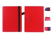 Чехол для Acer Aspire Switch 10 E SW3-013 / 12TJ/1812 10.1 красный кожаный..