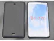Фирменная ультра-тонкая полимерная из мягкого качественного силикона задняя панель-чехол-накладка для Acer Ico..