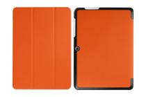 """Фирменный умный тонкий чехол для Acer Iconia One B3-A20 10.1"""" """"Il Sottile"""" оранжевый пластиковый"""