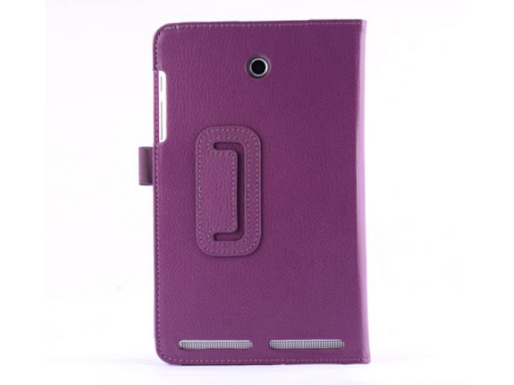 Фирменный чехол-обложка с подставкой для Acer Iconia Tab 8 A1-840/A1-841 фиолетовый кожаный..